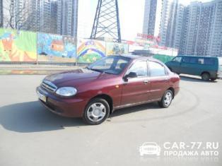 Chevrolet Lanos Москва
