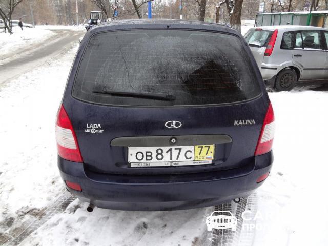ВАЗ Kalina Москва