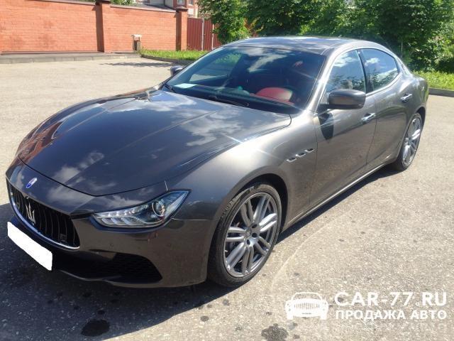 Maserati Quattroporte Москва