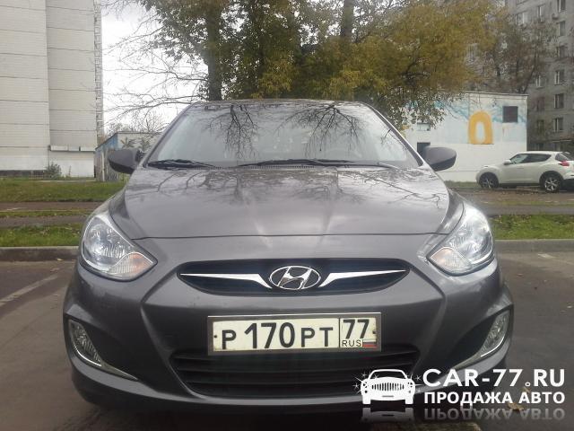 Hyundai Solaris Москва