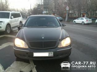 Mercedes-Benz S-class Москва